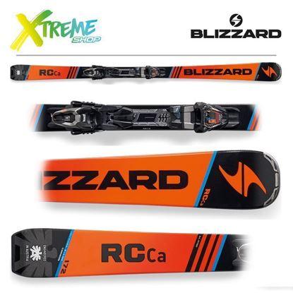 Narty Blizzard RC CA 2018 Orange/Black/Blue