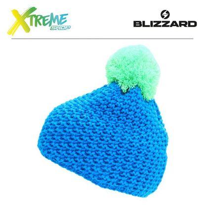 Czapka Blizzard MIXER Blue/Green