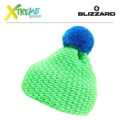 Czapka Blizzard MIXER Green/Blue