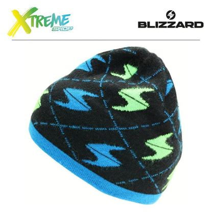 Czapka Blizzard SAALBACH Black/Blue