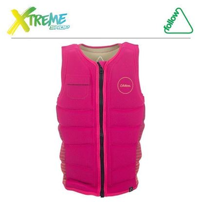 Kamizelka wakeboardowa Follow STOW LADIES IMPACT VEST Magenta 2017 1