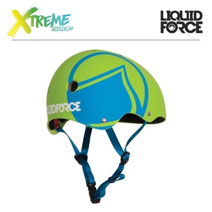 Kask wakeboardowy Liquid Force HERO Green 2017
