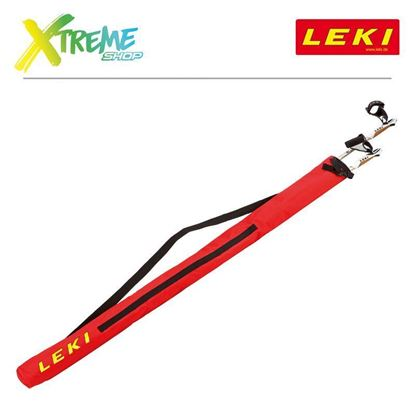 Pokrowiec na kije Leki NORDIC WALKING POLE BAG Red