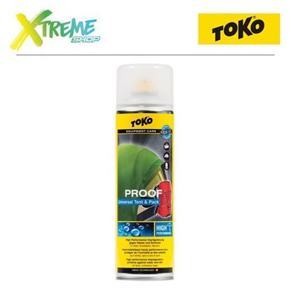 Obrazek Impregnat do namiotów Toko TENT & PACK PROOF - 500ml