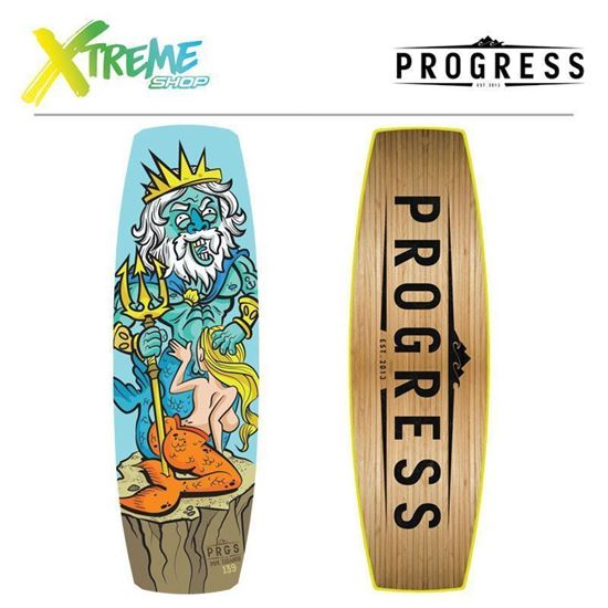Deska wakeboardowa Progress PIPE CLEANER 2017 139
