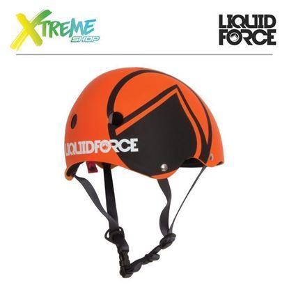 Kask wakeboardowy Liquid Force HERO Orange 2017