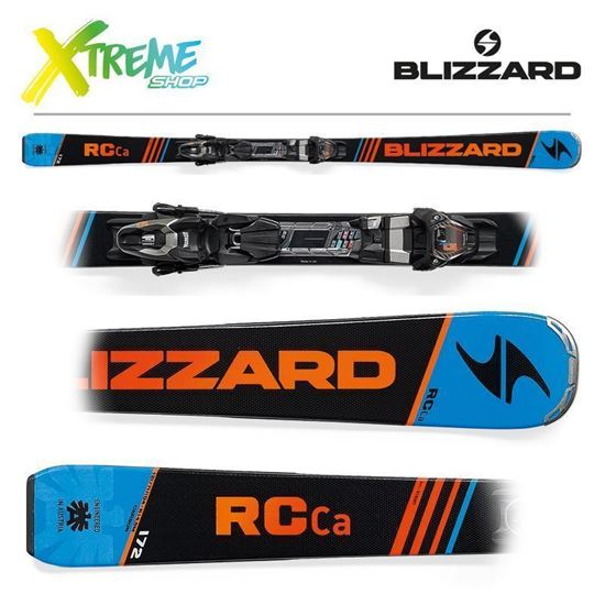 Narty Blizzard RC CA 2018 Black/Blue/Orange