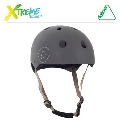 Kask wakeboard Follow SAFETY FIRST HELMET Grey 2017