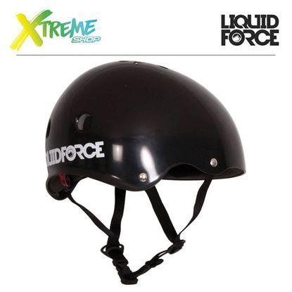 Kask wakeboardowy Liquid Force DROP Black 2017