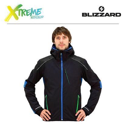 Kurtka narciarska Blizzard RACE MEN Black/Blue/Green 1