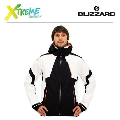Kurtka narciarska Blizzard POWER MEN Black/White/Orange 1
