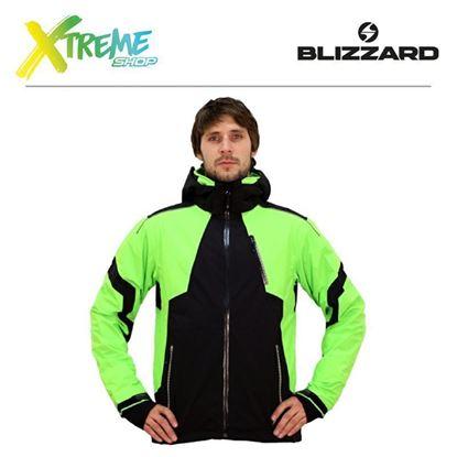 Kurtka narciarska Blizzard POWER MEN Black/Lime green 1