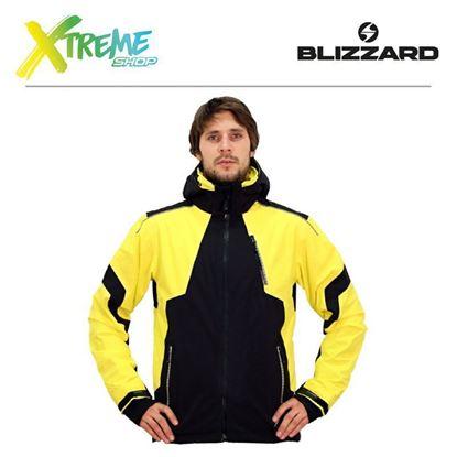Kurtka narciarska Blizzard POWER MEN Black/Yellow 1