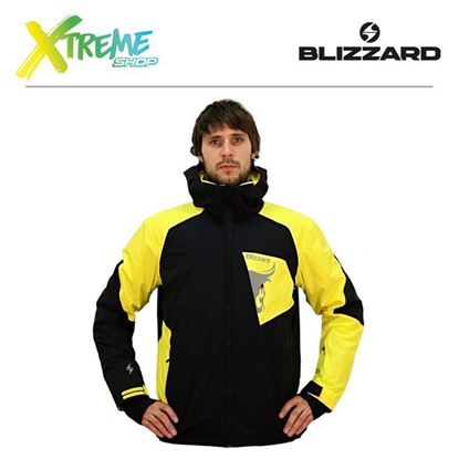 Kurtka narciarska Blizzard FREEMOUNTAIN MEN Black/Yellow 1