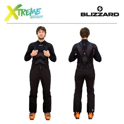 Spodnie narciarskie Blizzard POWER MEN Black