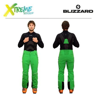 Spodnie narciarskie Blizzard PERFORMANCE MEN Apple green
