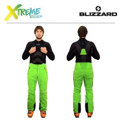 Spodnie narciarskie Blizzard PERFORMANCE MEN Lime green