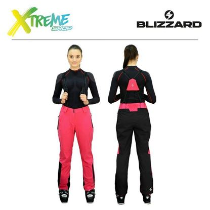 Spodnie narciarskie Blizzard POWER WOMEN Grenadine/Black