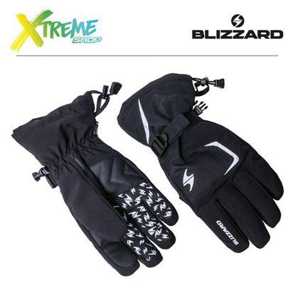 Rękawice narciarskie Blizzard REFLEX Black/Silver