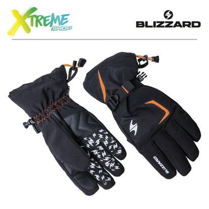 Rękawice narciarskie Blizzard REFLEX Black/Orange