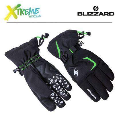 Rękawice narciarskie Blizzard REFLEX Black/Green