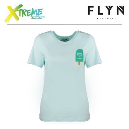 T-Shirt Flyn ICE CREAM MINT WOMAN 1