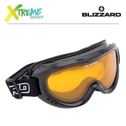 Gogle Blizzard 907 DAO Black Shiny