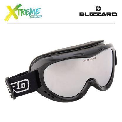 Gogle Blizzard 907 DAZO Black Shiny