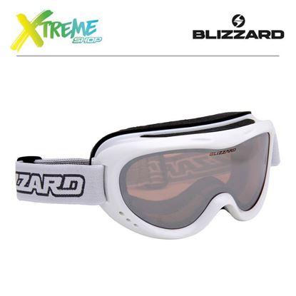 Gogle Blizzard 907 MDAZO White Metallic