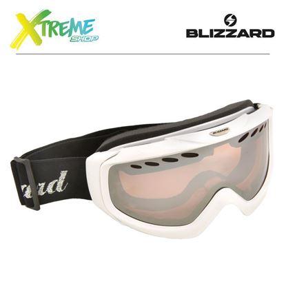 Gogle Blizzard 906 LDAVZ Extra White Shiny