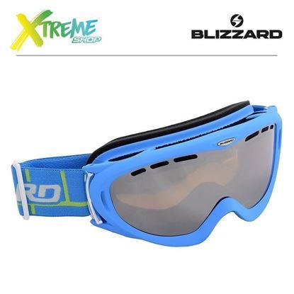 Gogle Blizzard 905 MDAVZFO Neon Blue Matt