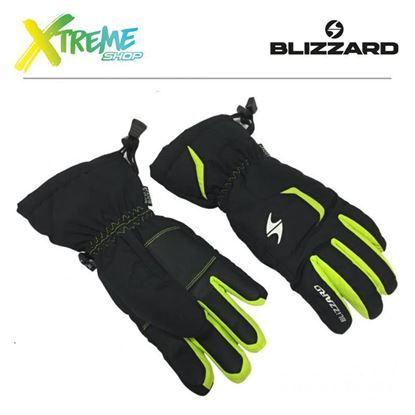 Rękawice Blizzard RIDER JUNIOR Black/Green