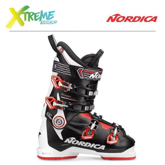 Buty narciarskie Nordica SPEEDMACHINE 100 2018 White/Black/Red