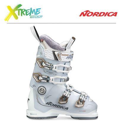 Buty narciarskie Nordica SPEEDMACHINE 85 W 2018 White/Ice/Bronze