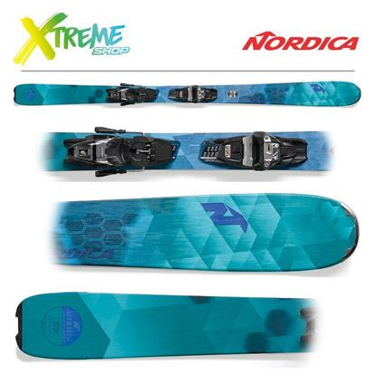 Narty Nordica ASTRAL 84 FDT 2018 + Wiązania FREE 11 FDT