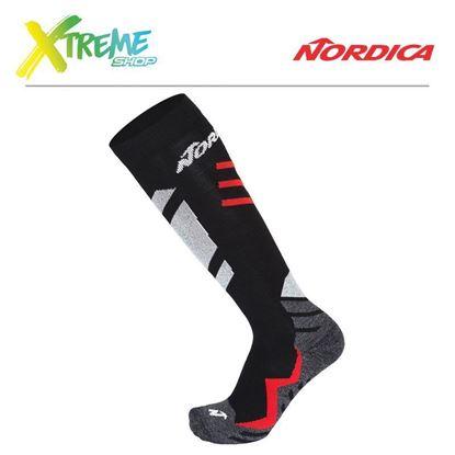 Skarpety Nordica SPEEDMACHINE SOCKS Black/Red