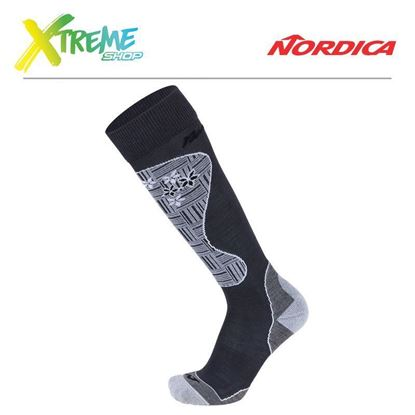 Skarpety Nordica PERFORMANCE WOMAN SOCKS Anthracite/Grey