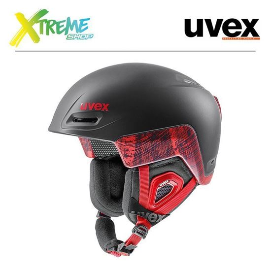 Kask Uvex Jimm Octo + Black-Red Mat