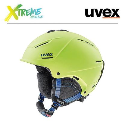 Kask Uvex P1us 2.0 Lime Mat