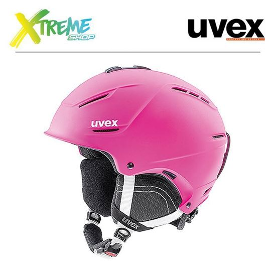 Kask Uvex P1us 2.0 Pink Mat