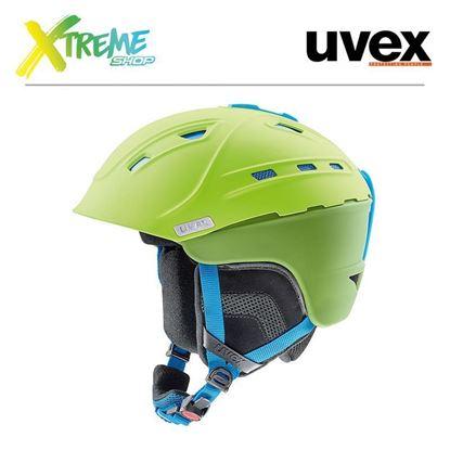 Kask Uvex P2us Green-Liteblue Mat