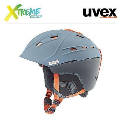 Kask Uvex P2us Grey-Orange