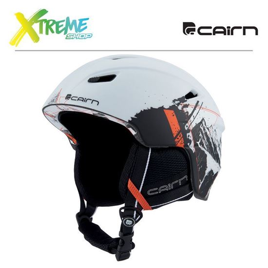 Kask Cairn Profil Mat White Summits