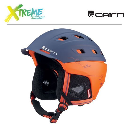 Kask Cairn I-Brid Rescue Mat Midnight Scarlet Techno
