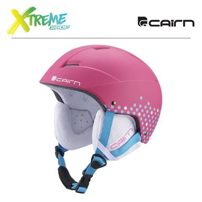 Kask Cairn Andromed J Mat Fuchsia Girly Dots