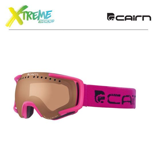 Gogle Cairn Next Photochromic Neon Pink