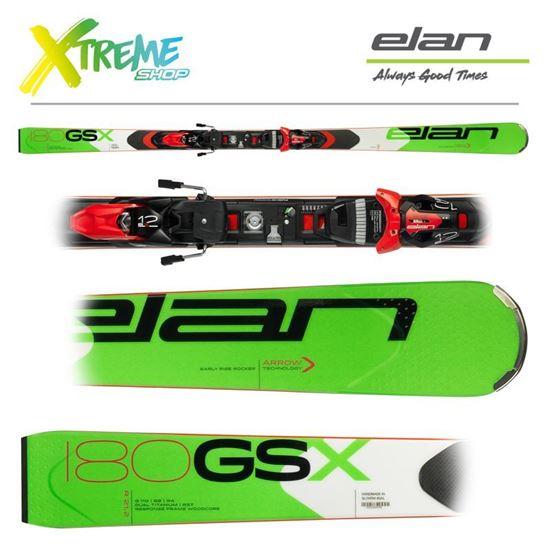 Narty Elan GSX FUSION + Wiązania ELX 12