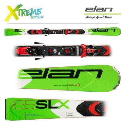 Narty Elan SLX FUSION + Wiązania ELX 12