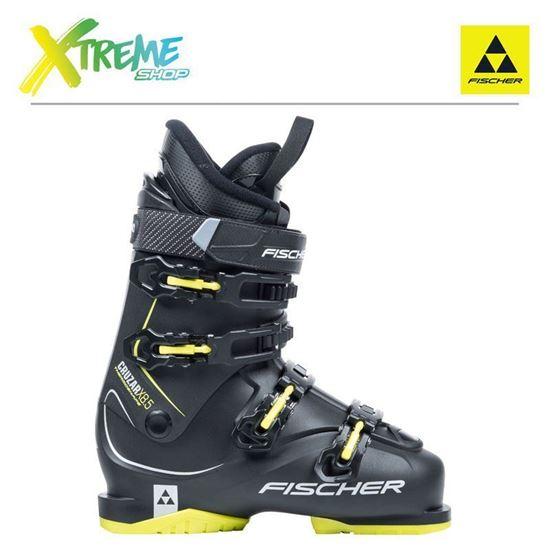Buty narciarskie Fischer CRUZAR X 8.5 Black/Yellow 2018