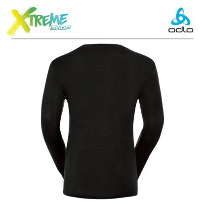 Koszulka męska Odlo SUW TOP 100% MERINO 110412/15000